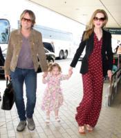 """Sunday Rose  Kidman, Keith Urban, Nicole Kidman - Sydney - 23-12-2010 - Keith Urban:""""L'amore di mia moglie e delle mie figlie mi aiuta a rimanere sobrio"""""""
