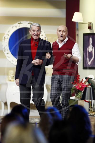 Alfonso Signorini, Carlo Rossella - Milano - 23-12-2010 - Villa Arzilla: i Peter Pan dello showbusiness