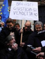 Alberto Torregiani, Fabrizio Cicchitto, Daniela Santanchè - Brasilia - 07-01-2011 - Cesare Battisti resta in carcere, no al rilascio immediato