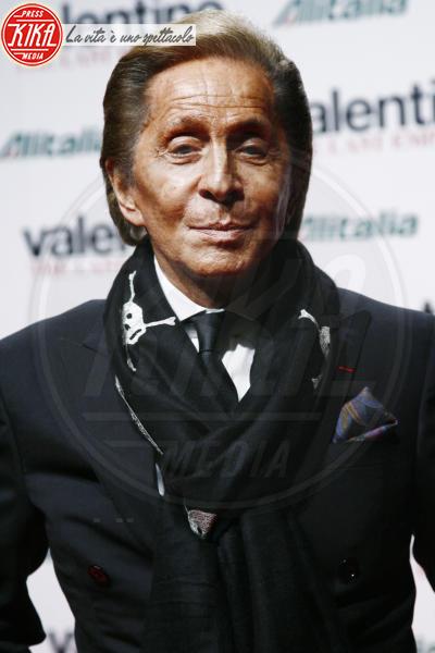 Valentino Garavani - Milano - 12-01-2011 - Fisco: Elisabetta Gregoraci e Valentino nella lista Falciani, 700 indagati