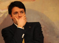 Matteo Renzi - Roma - 13-01-2011 - Le mille facce buffe di Matteo Renzi