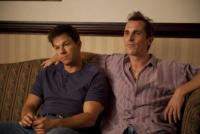 The Fighter, Christian Bale, Mark Wahlberg - Los Angeles - 17-01-2011 - Golden Globe 2011: Christian Bale è il miglior attore non protagonista