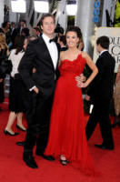 Elizabeth Chambers, Armie Hammer - Beverly Hills - 17-01-2011 - Golden Globes 2011: le coppie sul red carpet