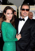 Angelina Jolie, Brad Pitt - Los Angeles - 16-01-2011 - Golden Globes 2011: le coppie sul red carpet