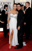 Marc Anthony, Jennifer Lopez - Los Angeles - 16-01-2011 - Golden Globes 2011: le coppie sul red carpet