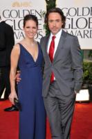 Susan Levin, Robert Downey Jr - Los Angeles - 16-01-2011 - Robert Downey jr rinuncia a Oz, che andra' a Johnny Depp