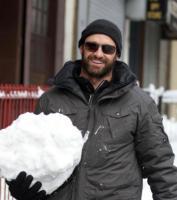 Hugh Jackman - New York - 27-01-2011 - Hugh Jackman e Alec Baldwin daranno la voce a Babbo Natale e altri eroi dei bambini contro l'uomo nero