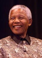 Nelson Mandela - Milano - 08-10-2009 - Nelson Mandela in ospedale ma non e' grave