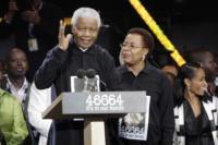 Nelson Mandela - Londra - 27-06-2008 - Nelson Mandela in ospedale ma non e' grave