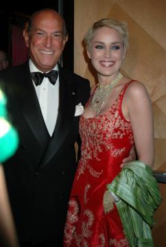 Oscar de La Renta, Sharon Stone - New York - Oscar de la Renta è morto all'etàdi 82 anni