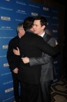 Tom Hanks, Colin Hanks - New York - 10-03-2009 - Tom Hanks e' diventato nonno e Colin Hanks padre