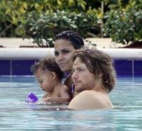 Gabriel Aubry, Halle Berry - Miami - 08-07-2009 - Kim Kardashian ha fatto litigare Halle Berry e Gabriel Aubry