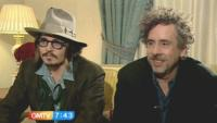 Tim Burton, Johnny Depp - Londra - 01-03-2010 - Eva Green in trattative per Dark Shadows con Johnny Depp e Tim Burton