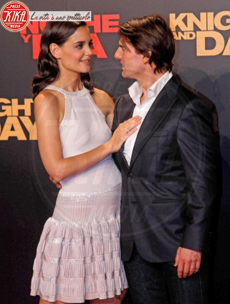 Katie Holmes, Tom Cruise - Barcellona - 04-02-2011 - Tom Cruise cantera' nella versione cinematografica di Rock of Ages