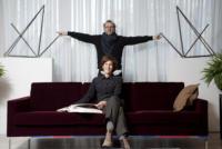 moglie, Laura Bottura, Massimo Bottura - Modena - 07-02-2011 - A casa di Massimo Bottura, lo chef numero 1 al mondo