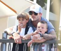 David Beckham - Los Angeles - 07-02-2011 - I Beckham aspettano una bambina