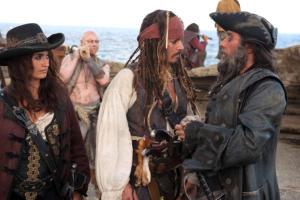 Johnny Depp, Penelope Cruz - Los Angeles - 08-02-2011 - Il Super Bowl fa salire la febbre per I pirati dei Caraibi