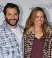 Judd Apatow, Leslie Mann - Los Angeles - 08-02-2011 - Judd Apatow non rivela la nomination ai Golden Globe per festeggiare la figlia