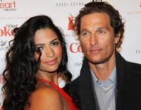"Camila Alves, Matthew McConaughey - New York - 10-02-2011 - Matthew McConaughey parla al mensile Esquire: ""Camila e' la donna giusta"""