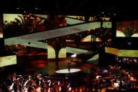 coreografia Ariston - Sanremo - 17-02-2011 - Il Festival di Sanremo rende omaggio ai 150 anni dell'Unità d'Italia