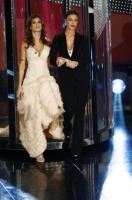 Belen Rodriguez, Elisabetta Canalis - Sanremo - 17-02-2011 - Il Festival di Sanremo rende omaggio ai 150 anni dell'Unità d'Italia