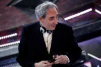 Franco Battiato - Sanremo - 17-02-2011 - Il Festival di Sanremo rende omaggio ai 150 anni dell'Unità d'Italia