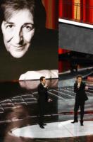Paolo Kessisoglu, Luca Bizzarri - Sanremo - 17-02-2011 - Il Festival di Sanremo rende omaggio ai 150 anni dell'Unità d'Italia
