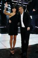 Raquel Del Rosario, Luca Barbarossa - Sanremo - 17-02-2011 - Il Festival di Sanremo rende omaggio ai 150 anni dell'Unità d'Italia
