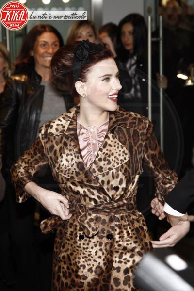 Scarlett Johansson - Los Angeles - 22-02-2011 - Il leopardo non si ammaestra, si indossa