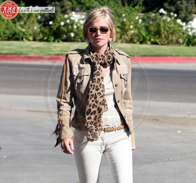 Sharon Stone - Los Angeles - 22-02-2011 - Sharon Stone minacciata da Stalker: lapolizia di Los Angeles pattuglia la sua casa