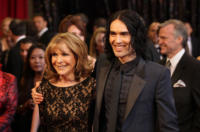 Juliet Brand, Russell Brand - Hollywood - 02-03-2011 - 83rd Oscar 2011: gli arrivi sul red carpet