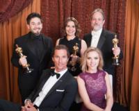 Gary Rizzo, Ed Novick, Lora Hirschberg, Matthew McConaughey - Hollywood - 02-03-2011 - Volata Oscar 2014: Matthew McConaughey, l'outsider in paradiso