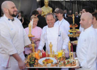 Wolfgang Puck - Los Angeles - 27-02-2011 - 83rd Oscar 2011: gli arrivi sul red carpet