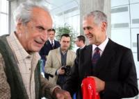 Roberto Formigoni, Ottavio Missoni - Milano - 02-03-2011 - E' morto a novantadue anni Ottavio Missoni