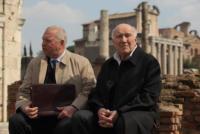 Jerzy Sthur, Michel Piccoli - Milano - 07-03-2011 - Nanni Moretti entra nelle dinamiche del Vaticano con il film Habemus Papam