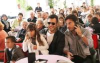 Leonardo Renga, Iolanda Renga, Francesco Renga - Milano - 16-03-2011 - Ambra Angiolini tradisce Francesco Renga con Pier Giorgio Bellocchio