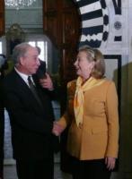 Beji Caid Essebsi, Hillary Clinton - Tunisi - 17-03-2011 - Hillary Clinton: