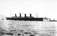 il suo scafo - Foto d'epoca: il Titanic - 02-05-2007 - Nuova miniserie sul Titanic nell'anniversario dell'affondamento