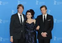 Tom Hooper, Helena Bonham Carter, Colin Firth - Berlino - 16-02-2011 - Tom Hooper, regista di King's Speech, si dedichera' al musical Les Miserables