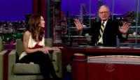 David Letterman, Jessica Biel - New York - 11-02-2010 - David Letterman ha ricevuto il massimo degli onori alla prima edizione dell'US Comedy Award