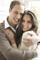 Principe William, Kate Middleton - Londra - 25-03-2011 - Resa nota l'ora x del primo bacio pubblico tra William e Kate