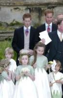 I principi William, Principe Harry - Lacock - 07-05-2006 - William e Harry di Inghilterra confortano la squadra ai Mondiali