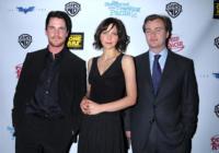 Christopher Nolan, Christian Bale, Maggie Gyllenhaal - Las Vegas - 13-03-2008 - Batman sara' reinventato dopo il terzo film