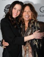 Liv Tyler, Steven Tyler - Los Angeles - 21-03-2011 - Liv Tyler approva il fidanzamento di suo padre