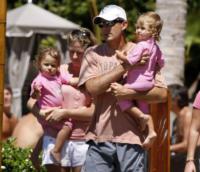Charlene Federer, Myla Rose Federer, Mirka Federer - Miami - 03-04-2011 - Charlene avrà due gemelli: quante star come lei!