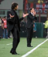 Leonardo, Massimiliano Allegri - Milano - 03-04-2011 - Leonardo: ricovero lampo per un malore