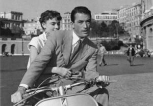 Audrey Hepburn, Gregory Peck - Vacanze romane - Los Angeles - 04-04-2011 - Donald Trump all'attacco della Vespa: come faranno le star?