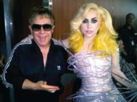 Lady Gaga, Elton John - America - 03-09-2010 - Lady Gaga sara' la madrina del figlio di Elton John