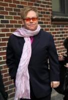 Elton John - New York - 09-02-2011 - Lady Gaga sara' la madrina del figlio di Elton John