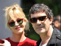 Antonio Banderas, Melanie Griffith - Los Angeles - 16-05-2010 - Woodley-James: quando il set e' galeotto